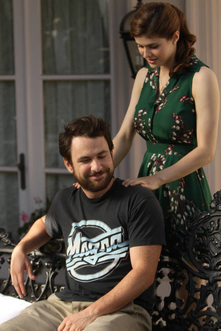 Charlie Day and Alexandra Daddario in It's Always Sunny in Philadelphia (2005)