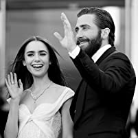 Jake Gyllenhaal and Lily Collins