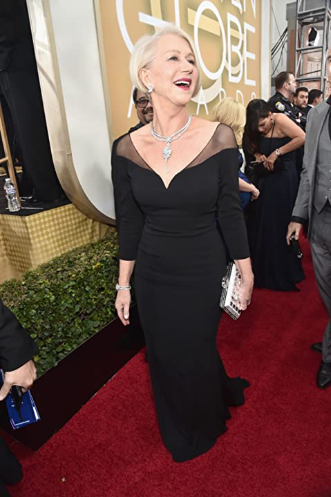 Helen Mirren at an event for 73rd Golden Globe Awards (2016)