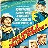 John Wayne, John Agar, Harry Carey Jr., Joanne Dru, and Ben Johnson in She Wore a Yellow Ribbon (1949)