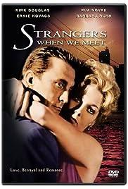 Strangers When We Meet Poster