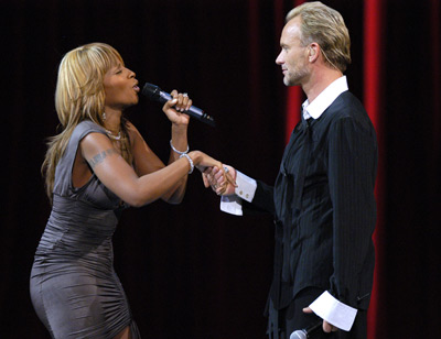In Photo: Mary J. Blige and Sting