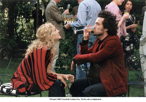 Kate Hudson and Romain Duris in The Divorce (2003)