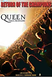 Queen + Paul Rodgers: Return of the Champions Poster