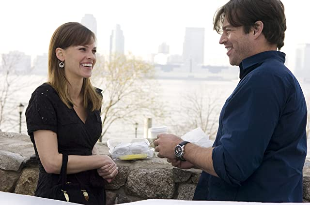 Harry Connick Jr. and Hilary Swank in P.S. I Love You (2007)