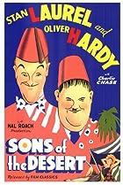 Sons of the Desert (1933) Poster