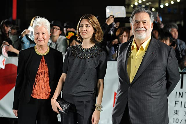 Francis Ford Coppola, Sofia Coppola, and Eleanor Coppola