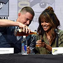 Halle Berry and Channing Tatum at an event for Kingsman: The Golden Circle (2017)