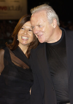 Anthony Hopkins at an event for The Human Stain (2003)