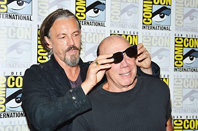 Dayton Callie and Tommy Flanagan at Sons of Anarchy (2008)