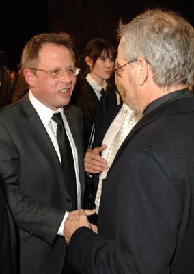 Steven Spielberg and Bill Condon