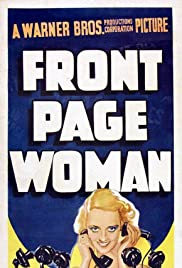 Front Page Woman Poster