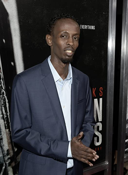 Barkhad Abdi at Captain Phillips (2013)