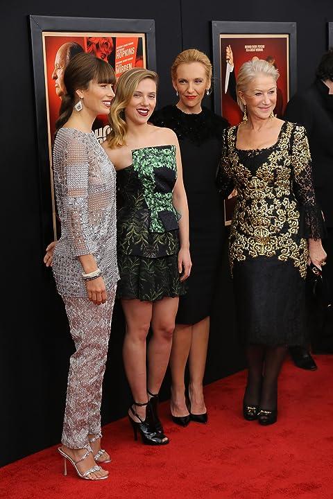 Helen Mirren, Toni Collette, Jessica Biel, and Scarlett Johansson at an event for Hitchcock (2012)