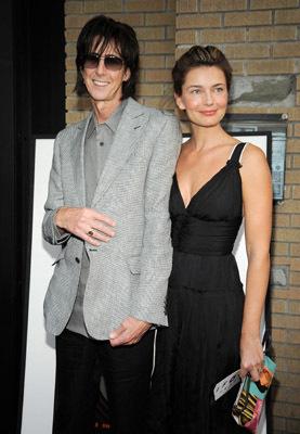 Paulina Porizkova and Ric Ocasek at The Limits of Control (2009)