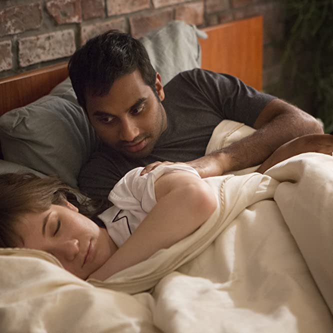 Aziz Ansari and Noël Wells in Master of None (2015)