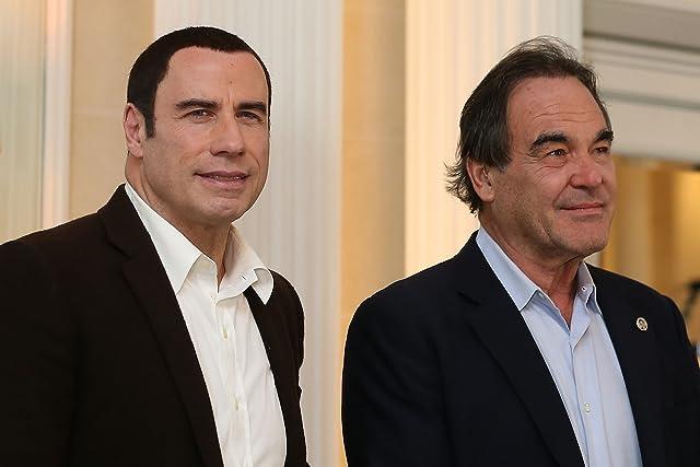 Oliver Stone and John Travolta at Savages (2012)