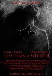 Less Than a Whisper Poster