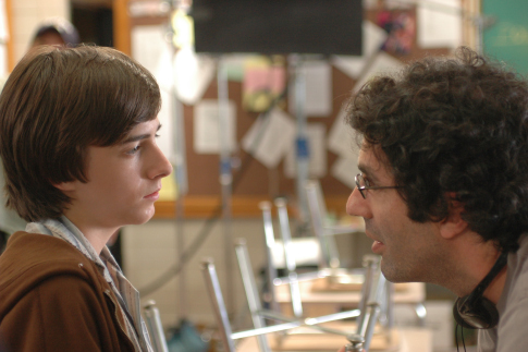 Jeffrey Blitz and Reece Thompson in Rocket Science (2007)