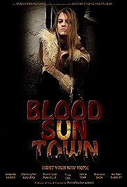 Blood Sun Town Poster