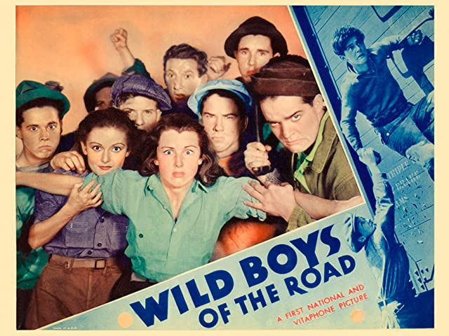 Dorothy Coonan Wellman, Frankie Darro, Rochelle Hudson, Buddy Messinger, and George Offerman Jr. in Wild Boys of the Road (1933)