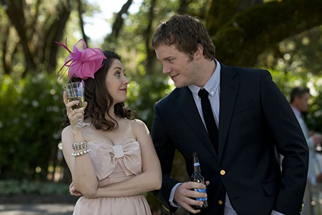 Chris Pratt and Alison Brie in The Five-Year Engagement (2012)