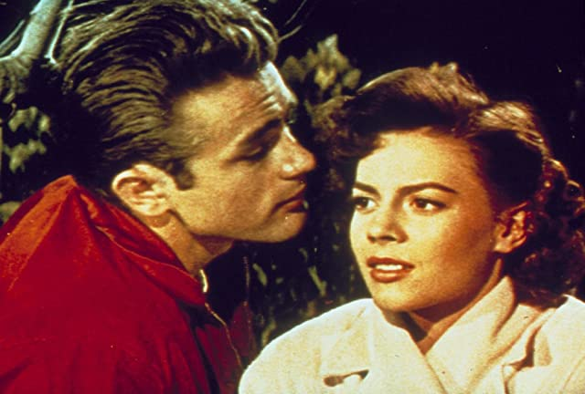 James Dean and Natalie Wood in Rebel Without a Cause (1955)