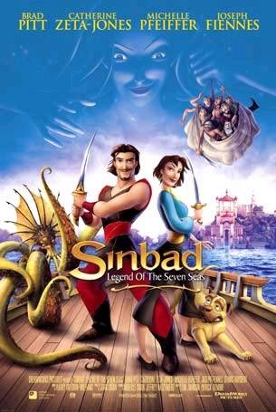 Sinbad: Legend of the Seven Seas (2003) Cover