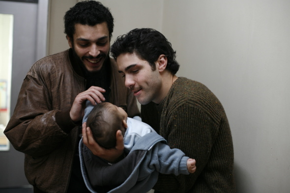Adel Bencherif and Tahar Rahim in A Prophet (2009)
