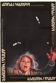 Anna i wampir Poster