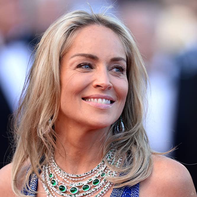 Sharon Stone at an event for Behind the Candelabra (2013)