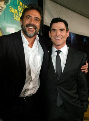 Billy Crudup and Jeffrey Dean Morgan at Watchmen (2009)