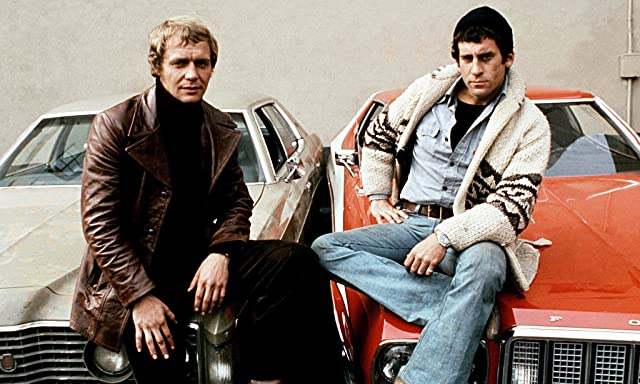 Paul Michael Glaser and David Soul in Starsky and Hutch (1975)