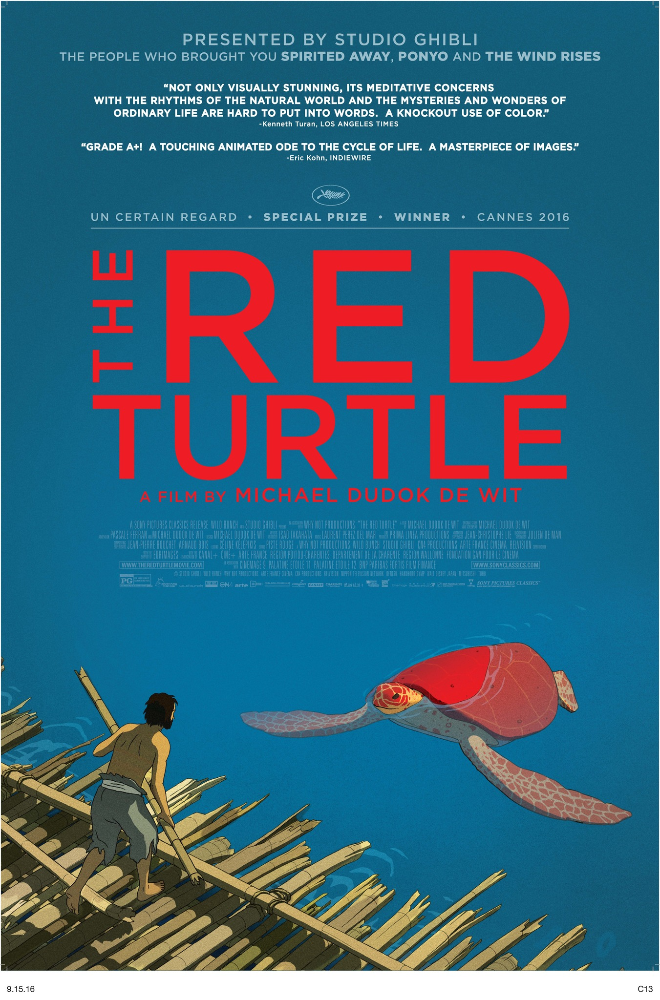 La tortue rouge(2016) - Movies In Theaters