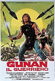 Gunan, King of the Barbarians (1982) Poster - Movie Forum, Cast, Reviews