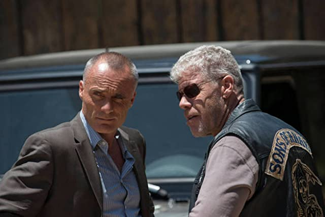 Ron Perlman and Timothy V. Murphy in Sons of Anarchy (2008)