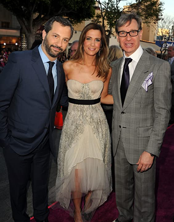 Judd Apatow, Paul Feig, and Kristen Wiig at Bridesmaids (2011)