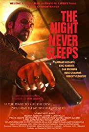 The Night Never Sleeps Poster