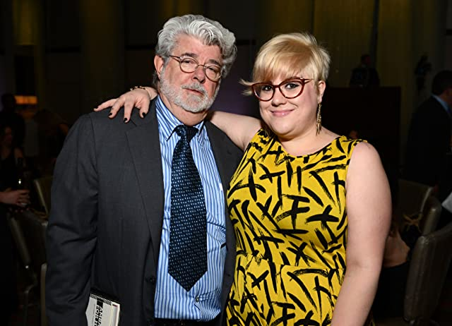 George Lucas and Katie Lucas
