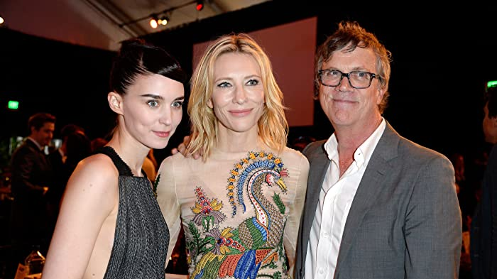 Cate Blanchett, Todd Haynes, and Rooney Mara at an event for 31st Film Independent Spirit Awards (2016)