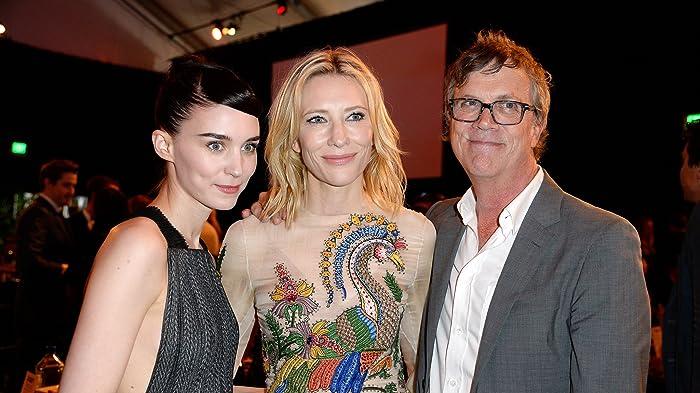 Cate Blanchett, Todd Haynes, and Rooney Mara at 31st Film Independent Spirit Awards (2016)