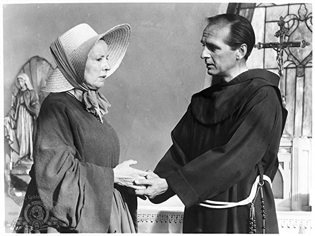 Dan Frazer and Lilia Skala in Lilies of the Field (1963)