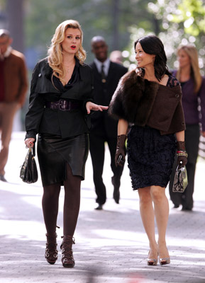 Lucy Liu and Bonnie Somerville at an event for Cashmere Mafia (2008)