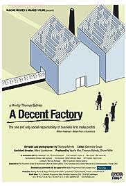 A Decent Factory Poster