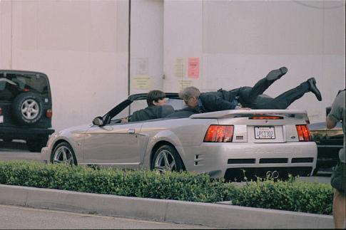 Harrison Ford and Josh Hartnett in Hollywood Homicide (2003)