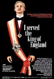 Obsluhoval jsem anglického krále Poster