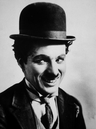 Charlie Chaplin, c. 1922.