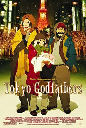 Tokyo Godfathers (2003) HD 720P