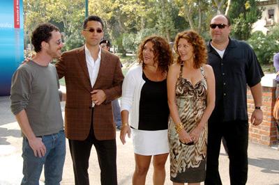 Susan Sarandon, Ethan Coen, James Gandolfini, John Turturro, and Aida Turturro at Romance & Cigarettes (2005)