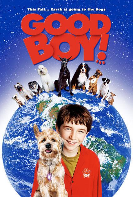 Matthew Broderick and Liam Aiken in Good Boy! (2003)